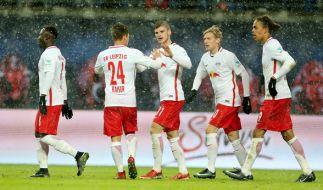 RB Leipzig empfängt im ersten Spiel nach der Winterpause das Team von Eintracht Frankfurt in der Red Bull Arena. (Foto)