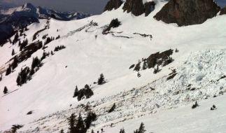 Die Lawinengefahr in den Alpen entspannt sich ein wenig. (Foto)