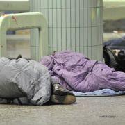 Frost und soziale Kälte: So leiden Obdachlose in deutschen Städten (Foto)