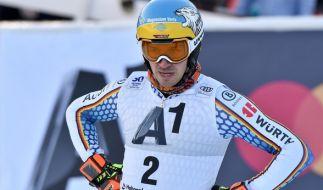 Felix Neureuther aus Deutschland lässt sich auch nach seinem letzten Rennen nicht unterkriegen. (Foto)