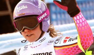 Viktoria Rebensburg war die einzige deutsche Starterin am Kronplatz. (Foto)