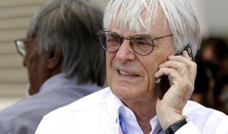 Bernie Ecclestone ist nicht mehr Geschäftsführer der Formel 1. (Foto)