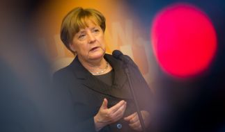 Angela Merkel ist Zielscheibe für russische Propaganda. (Foto)