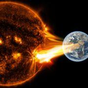 Mega-Sonnensturm bedroht Menschheit (Foto)