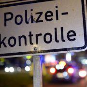 Betrunkener mit 1,8 Promille flüchtet 50 Kilometer vor der Polizei (Foto)
