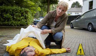 Marie Brand und ihr Kollege Jürgen Simmel nehmen die Ermittlungen auf. (Foto)