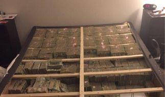 Ermittler fanden 20 Millionen US-Dollar in einer Matratze. (Foto)