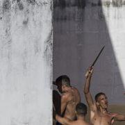 200 Häftlinge nach Revolte auf der Flucht (Foto)