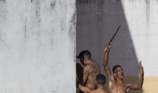 In Brasiliens Gefängniskrise ist es nach Dutzenden Morden nun zum Ausbruch von rund 200 Häftlingen gekommen. (Foto)