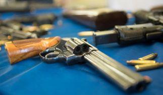 Bei bundesweiten Durchsuchungen stieß die Zollfahnung bei 29 Verdächtigen auf illegal im Internet erworbene Waffen (Symbolfoto). (Foto)