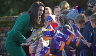 Herzogin Kate besuchte ein Kinderhospiz in der Grafschaft Norfolk. (Foto)