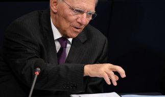 Wolfgang Schäuble rechnet mit 1,1 Milliarden Euro mehr. (Foto)
