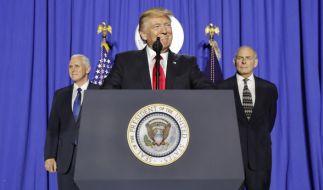 Der US-Präsident Donald Trump plant möglicherweise die Wiedereinführung des Waterboardings. (Foto)