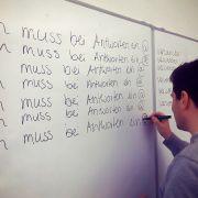Strafarbeit für Teamleiterà la Bart Simpson (Foto)