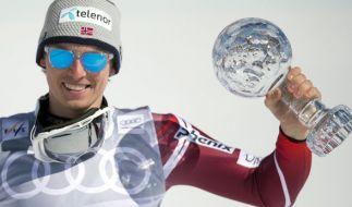 Der Norweger Kristoffersen ist der neue Shooting-Star im alpinen Slalom. (Foto)