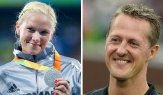 """Olympiamedaillen-Gewinnerin Vanessa Low erhält als erste Preisträgerin den """"Keep Fighting Award"""" der Wohltätigkeitsintiative von Michael Schumacher. (Foto)"""