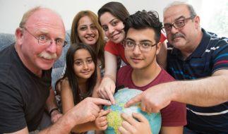 Syrer Aras Bacho wünscht sich mehr Zusammenhalt zwischen Deutschen und Flüchtlingen. (Foto)