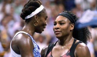 Australian-Open-Finale zwischen Serena und Venus Williams. (Foto)