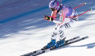 Auch Rebensburg kämpft noch mit den Folgen ihrer Knieverletzung aus der Vorbereitung. (Foto)