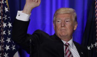 Donald Trump hat ein Einreiseverbot für viele Muslime verhängt. (Foto)