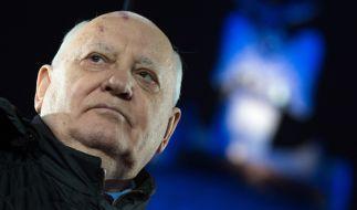 Michael Gorbatschow zeichnet ein düsteres Bild der Zukunft. (Foto)