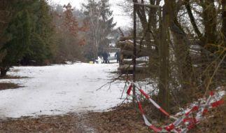 Grausiger Fund: In der Nähe von Arnstein (Landkreis Main-Spessart) bei Würzburg wurden am Sonntagmorgen die Leichen von sechs jungen Frauen und Männern entdeckt in einer Gartenlaube entdeckt. (Foto)
