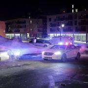 Die Kanadische Polizei im Einsatz nach einem vermeintlichen Terroranschlag gegen Muslime.