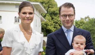 Kronprinzessin Victoria von Schweden, hier mit Ehemann Prinz Daniel und den gemeinsamen Kindern Prinzessin Estelle und Prinz Oscar, muss Medienberichten zufolge mit mehreren Enttäuschungen in der schwedischen Königsfamilie zurechtkommen. (Foto)
