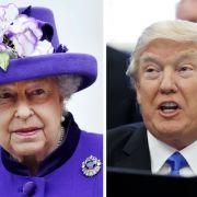 Petition gegen Trump! Briten haben Angst um Queen Elizabeth (Foto)