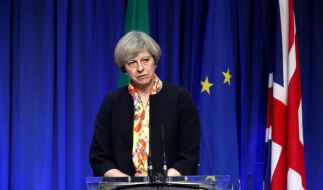 Die britische Regierungschefin hatte kürzlich in einer Grundsatzrede zum Brexit angekündigt, dass Großbritannien den europäischen Binnenmarkt verlassen wird. (Foto)