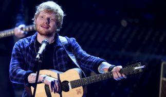 Der britische Singer-Songwriter Ed Sheeran kommt im März 2017 für fünf Konzerte nach Deutschland. (Foto)