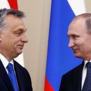 Russlands Präsident und der EU-Autokrat rücken zusammen (Foto)