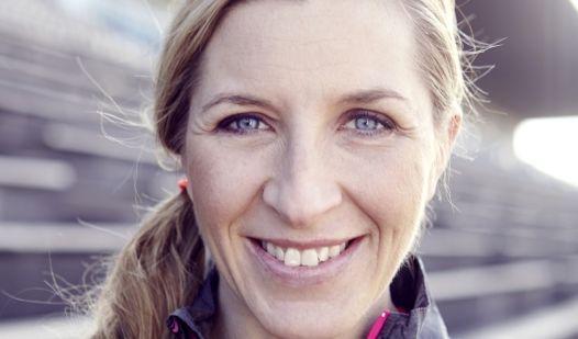 Anni Friesinger-Postma ist begeistert von dem täglichen Training.
