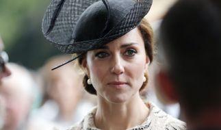 Für Herzogin Kate wird der Valentinstag 2017 eine traurige Angelegenheit - sie darf den Tag der Liebenden nämlich nicht mit ihrem Ehemann Prinz William verbringen! (Foto)