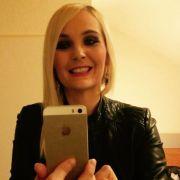 Helena Fürst und ihr gequältes Selfie.