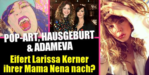 Larissa Kerner ganz privat