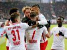 RB Leipzig ist bei Dortmund zu Gast. (Foto)