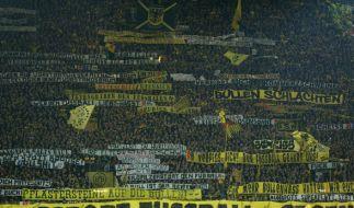 Bei dem Spiel zwischen RB Leipzig und Dortmund kam es zu Attacken auf RB-Fans. (Foto)