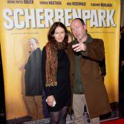 Ulrich Noethen und Alina Bronsky bei der Premiere des Kinofilms