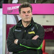 Borussia Mönchengladbach locker im DFB-Pokal-Viertelfinale (Foto)
