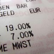 Das brachte die Mehrwertsteuererhöhung dem Staat (Foto)