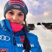 Christina Geiger ist eine deutsche Skirennläuferin. (Foto)