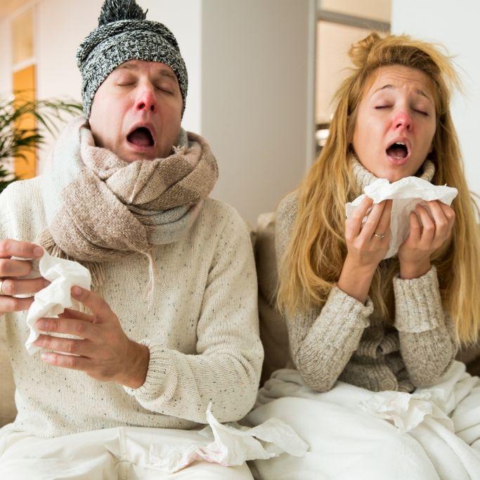 Grippewelle 2017 - Das ist der Unterschied zwischen Erkältung und Influenza (Foto)