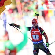Deutsche Mixed-Staffel gewinnt Gold bei Biathlon-WM (Foto)