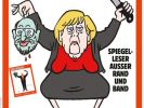 """Angela Merkel ist auf dem Cover der neuen Ausgabe des deutschen """"Charlie Hebdo""""-Magazins zu sehen. (Foto)"""