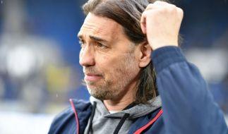 Mittelfeld oder Abstiegskampf? Der Mainzer Trainer Martin Schmidt. (Foto)