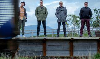 RegisseurDanny Boyle hat erneut den alten Cast, bestehend aus Ewan McGregor, Ewen Bremner, Jonny Lee Miller und Robert Carlyle zusammengetrommelt. (Foto)