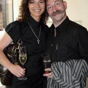 Hier noch unverheiratet: 2008 während einer Preisverleihung in Hamburg.