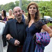 Schauspielerin Marie-Luise Marjan, Horst Lichter und seine Frau Nada Lichter 2009 bei der Unicef-Gala im Parkhotel Bremen.