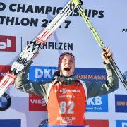 Biathlon-Weltmeister tauscht Ski und Gewehr gegen Kochlöffel (Foto)